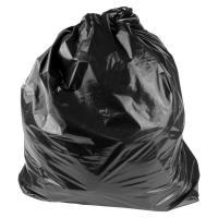 Мешки для мусора ПВД 160л 70 мкм фото