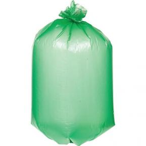 Мешки для мусора ПВД 80л 140 мкм фото