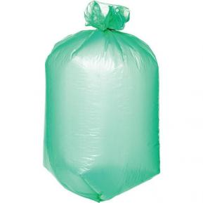 Мешки для мусора ПВД 100л 190 мкм фото