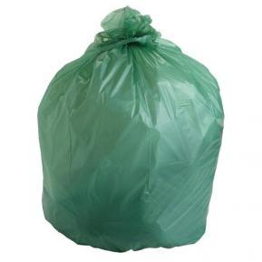 Мешки для мусора ПВД 140л 210 мкм фото