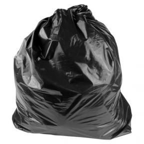 Мешки для мусора ПВД 160л 150 мкм фото